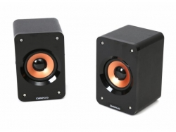 OMEGA SPEAKERS 2.0 OG-11W WOOD 5W BLACK