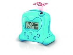 OREGON Ceas cu proiectie si termometru RM313 , albastru