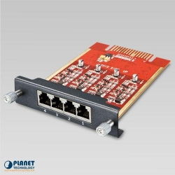 Planet 4-Port FXO module for IPX-2100 / IPX-2500