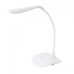 PLATINET DESK LAMP 3,5W FLEXIBLE WHITE - Plastic