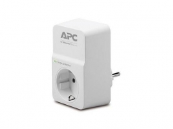 PROTECTOR POWER SURGE 1 OUTL./PM1W-GR APC