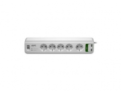 PROTECTOR POWER SURGE 5 OUTL./USB CHARGER 2PORT PM5U-GR APC