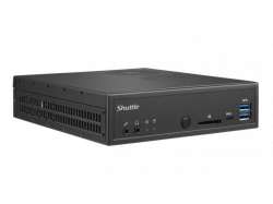 Shuttle Slim-PC Barebone DH270 LGA 1151 BLACK