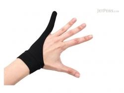 SmudgeGuard 1 finger gloves SG1, Black,Medium