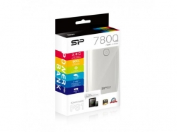 SP PowerBank Petroleum 7800mAh White