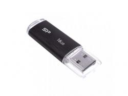 Stick Memorie Silicon Power Ultima U02 16GB, USB2.0, Black