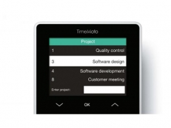 TimeMoto TM-818 Solutie completa  sistem de pontaj Include software PC /  optional TimeMoto Cloud
