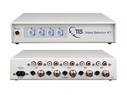 TLS  Video Selector 4/1 - selector sursa semnal Video Compus / S-Video