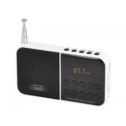 TREVI DR 740 SD Portable Digital Radio with Mp3 and Micro SD