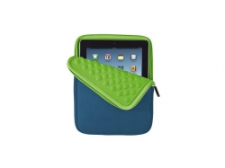 Trust  Anti-shock Bubble Sleeve for 10   tablets - blue