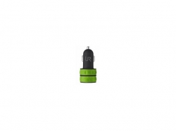 TRUST UR Dual Smartphone car charger - lime