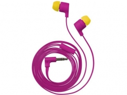 TRUST UR FLASH IN-EAR HEADPHONES MAGENTA