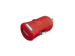 Trust  UR Smartphone car charger - red