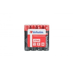 Verbatim  ALKALINE BATTERY AAA 4PACK SHRINK