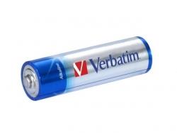 BATERIE AA ALKALINE 4buc/pachet Verbatim