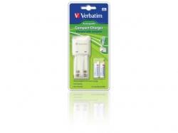 Verbatim  COMPACT CHARGER (EU PLUG)
