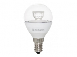Verbatim LED Mini Globe E14 5.5W 2700K WW 330LM Clear