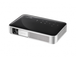 Videoproiector LED Full HD Qumi Q38, 600 lumeni, Negru