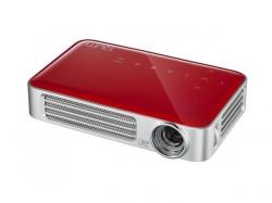 Videoproiector LED HD Qumi Q6, 800 Lumeni, Rosu