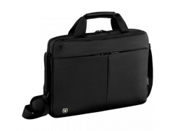 Wenger  Format 16 inch Laptop Slimcase with Tablet Pocket, Black