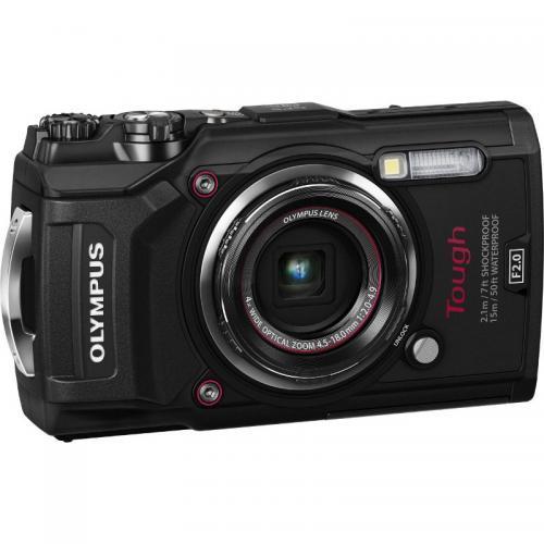 Camera foto compacta Olympus TG-5, 12Mp, Black