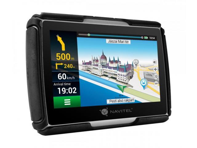 NAVITEL G550 MOTO GPS Navigation 4.3 inch FULL EU w/Bike holder