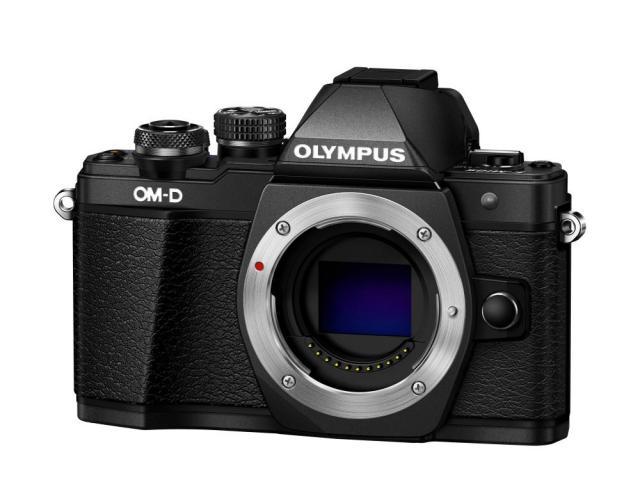 Olympus E-M10 Mark II Body black