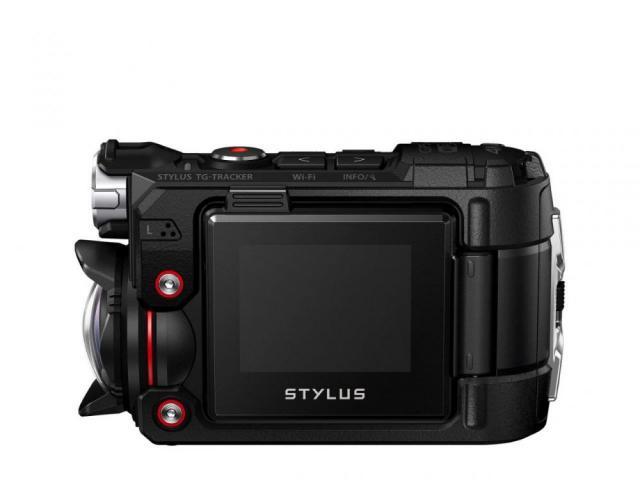 Olympus TG-Tracker Black