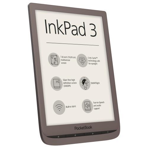 PocketBook Inkpad 3 Dark Brown - eBook Reader premium cu ecran tactil capacitiv (multisenzor) de 7.8