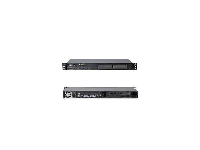 SERVER SYSTEM 1U SATA BLACK/SYS-5015A-EHF-D525 SUPERMICRO
