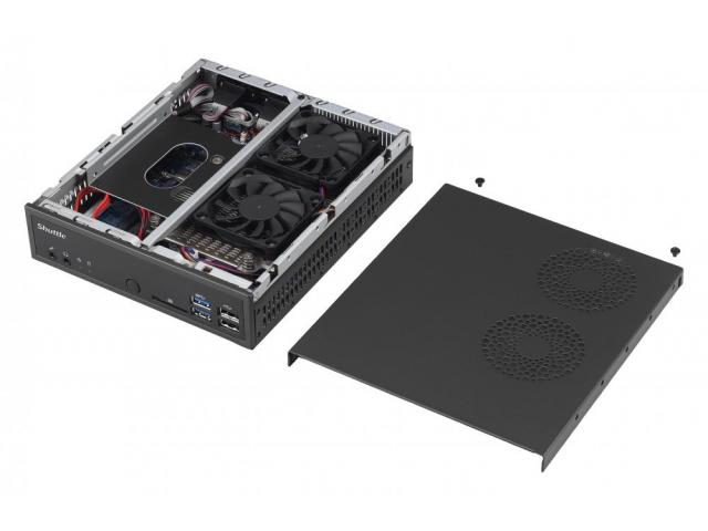 Shuttle Slim-PC Barebone DQ170 1.3 Litri LGA 1151 BLACK, Intel Q170 Chipset, Supports Intel vPro in