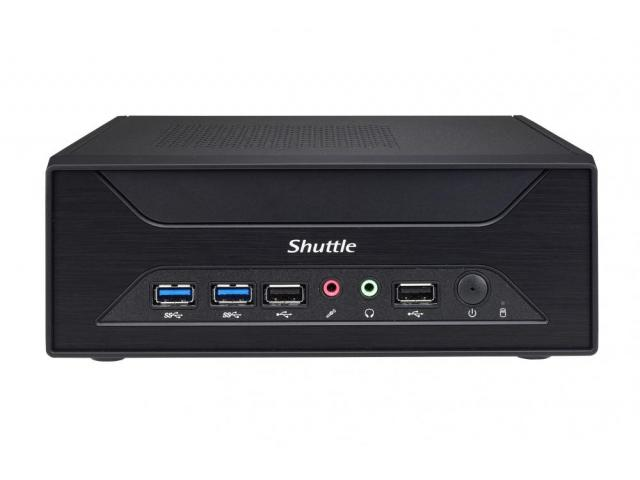 Shuttle XH110G Slim-PC Barebone XH110G Black 3.5 l Socket 1151