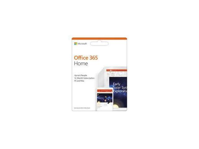 SW RET OFFICE 365 HOME/ROM 1Y P4 6GQ-00950 MS