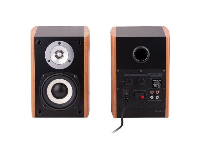 TREVI AV 540 Trevi Powered Speaker High Power wood