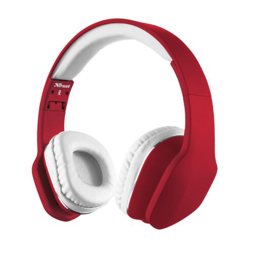 TRUST UR MOBI HEADPHONE - RED