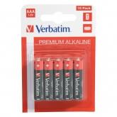 Baterii Verbatim 10 x AAA/R3 Alkaline