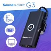 CREATIVE Sound Blaster G3 - USB-C Multi Platform SoundCard