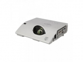 Hitachi Super Short Throw, XGA, 3100 lumeni, 0.6:1, 10.000:1, 10.000 ore, RJ45, optional Wireless, H