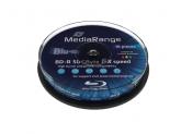 MediaRange  BD-R DL 50GB 6x Cake10 PRINTABLE