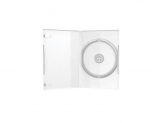 MediaRange Carcasa DVD Case Single Clear 14mm