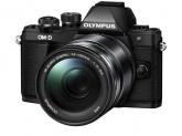 Olympus E-M10 Mark II black + EZ-M1442 IIR black
