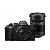 Olympus E-M10 Mark II Double Zoom Traveller Kit Black