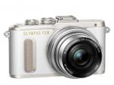 Olympus E-PL8 Pancake Zoom Kit white