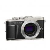 Olympus E-PL9 Pancake Zoom Kit blk/slv (E-PL9 black + EZ-M1442EZ silver - incl. Charger & Battery)