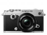 Olympus PEN-F Pancake Zoom  Kit slv/blk / PEN-F silver + EZ-M1442EZ black