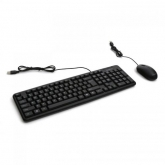 OMEGA KIT KEYBOARD + MOUSE OKM05 cu FIR USB/microUSB - BLACK