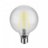 OMEGA LED BULB FILAMENT E27 2800K 4W GLOBE