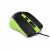 OMEGA MOUSE OM-05G 3D OPTICAL 1600DPI GREEN USB