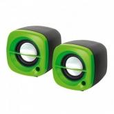 OMEGA SPEAKERS 2.0 OG-15 6W GREEN USB [43042]