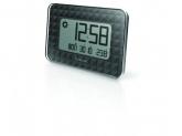 OREGON Ceas de perete JW208 cu termometru, negru